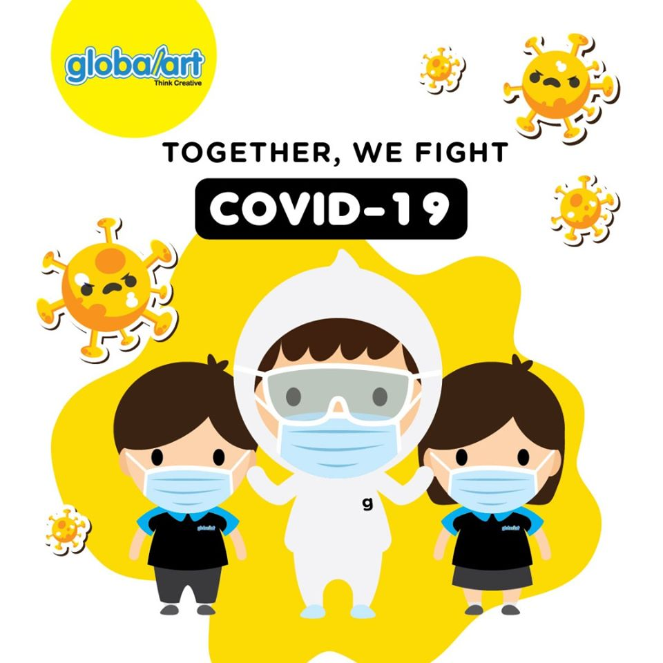 "Campain ""Covid-19 In Children's Eyes"""